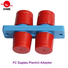 FC Duplex Plastic Standard Fiber Optic Adapter